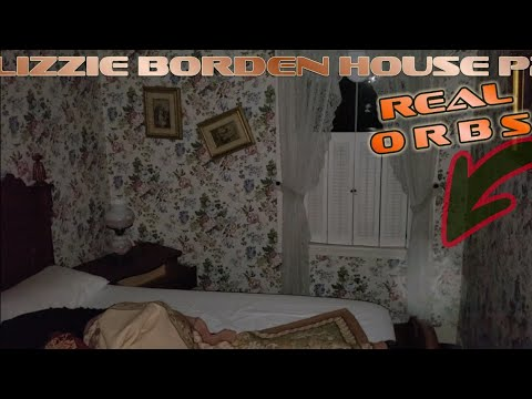 """(SHoCkInG) Filmed myself Sleeping at Lizzie Borden House and then """"IT"""" Happened"""