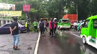 Download Dua Orang Terluka Akibat Tertimpa Pohon Tumbang di Jalan Ahmad Yani Bogor