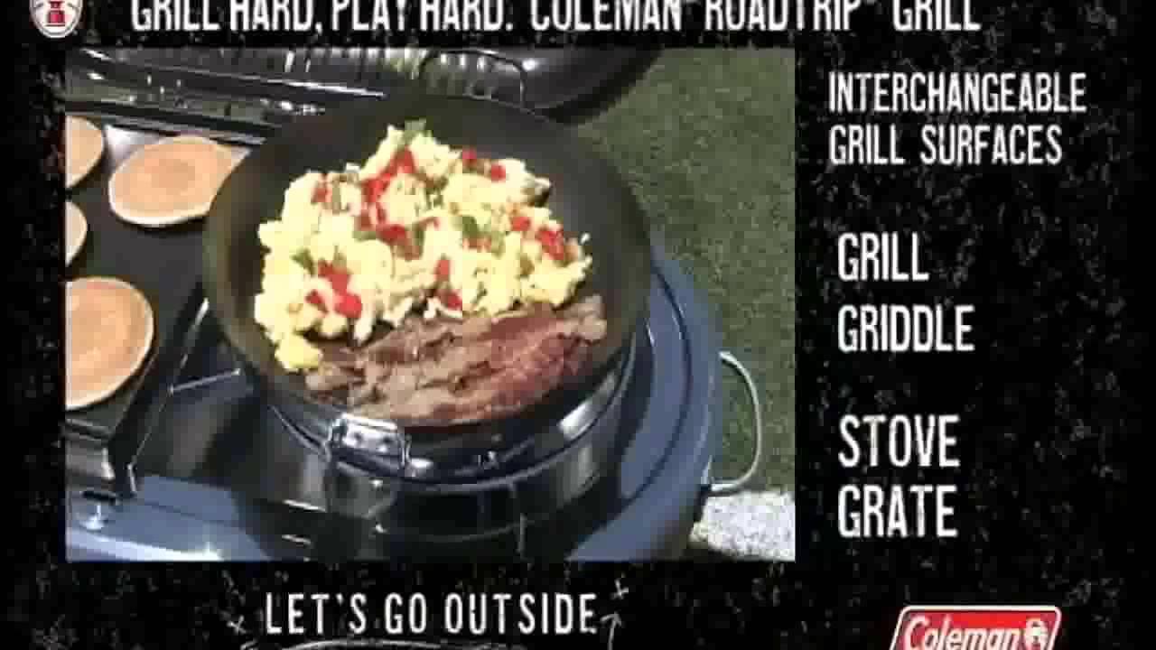Coleman Roadtrip Grill Recipes Dandk Organizer