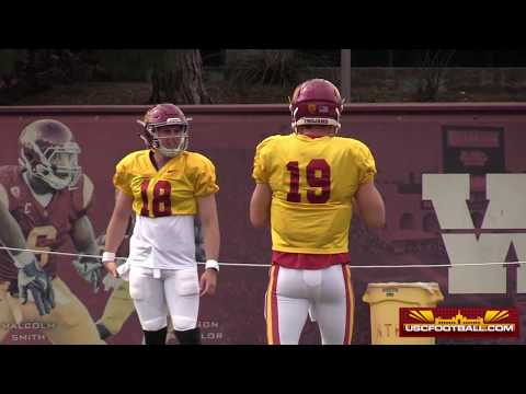 Sights and Sounds from USC Spring Practice No. 11