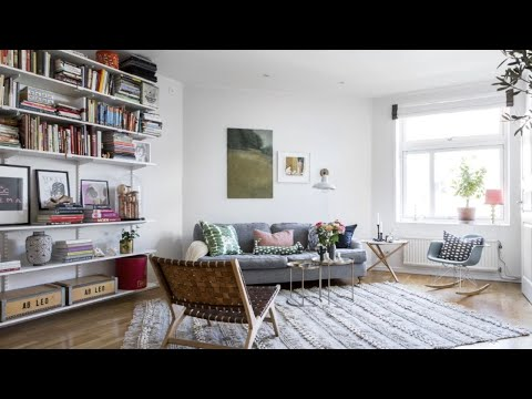 Colorful Style In Small Scandinavian Home, Stockholm 🍍