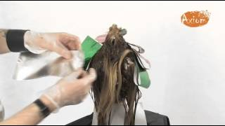Окрашивание волос - видео-урок(Salerm Cosmetics Россия представляет: мастер-класс