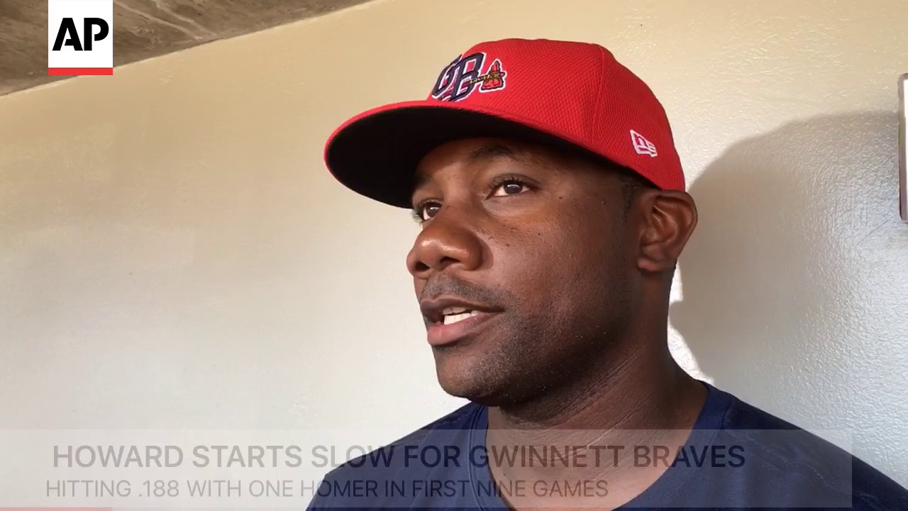 Ryan Howard Goes Back To The Minors - YouTube