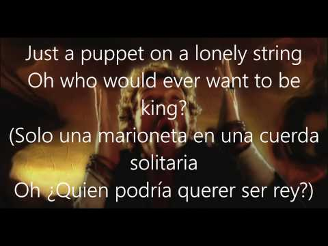 Coldplay-Viva La Vida (Lyrics Español/Ingles)