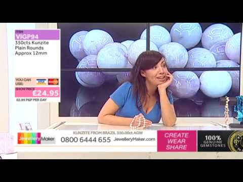 How To Make Chain Maille Jewellery - JewelleryMaker LIVE (am) 21/05/2015