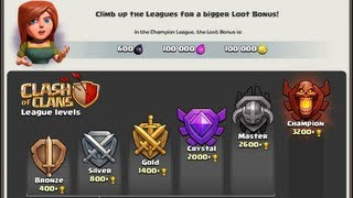 Clash of Clans - MASTER'S LEAGUE FINALLY!!!!!