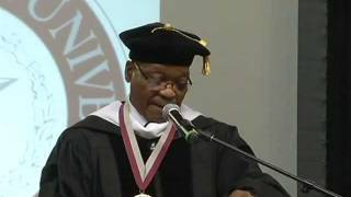 President Jacob Zuma receives Honorary Doctorate of Humane Letters Degree