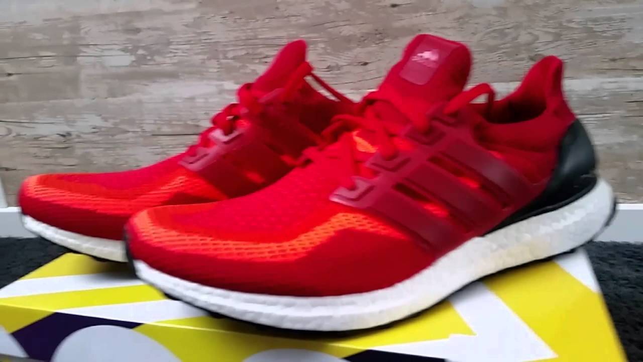 Adidas Ultraboost Solar Red Quick look