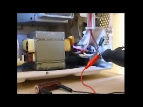 Microwave Oven Repair Door Switch Replacement