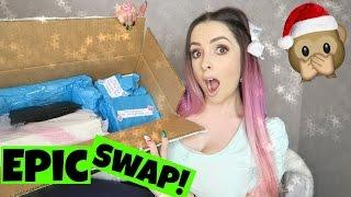 EPIC Christmas Present SWAP w Sabrina Koun