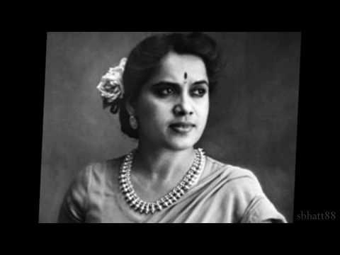 Amrit Manthan 1934: Kamsini mein dil pe gham ka baar kyon [record] (Shanta Apte)