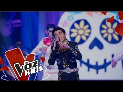 Luis Ángel Gómez canta Un Poco Loco | La Voz Kids Colombia 2019