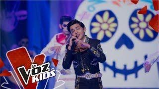 Gambar cover Luis Ángel Gómez canta Un Poco Loco | La Voz Kids Colombia 2019