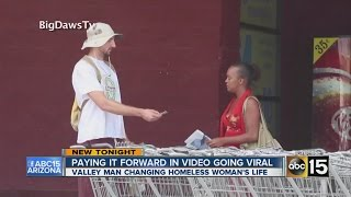 Repeat youtube video Pay it forward video going viral