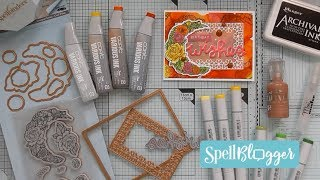 Birthday Wishes with Spellbinders :D