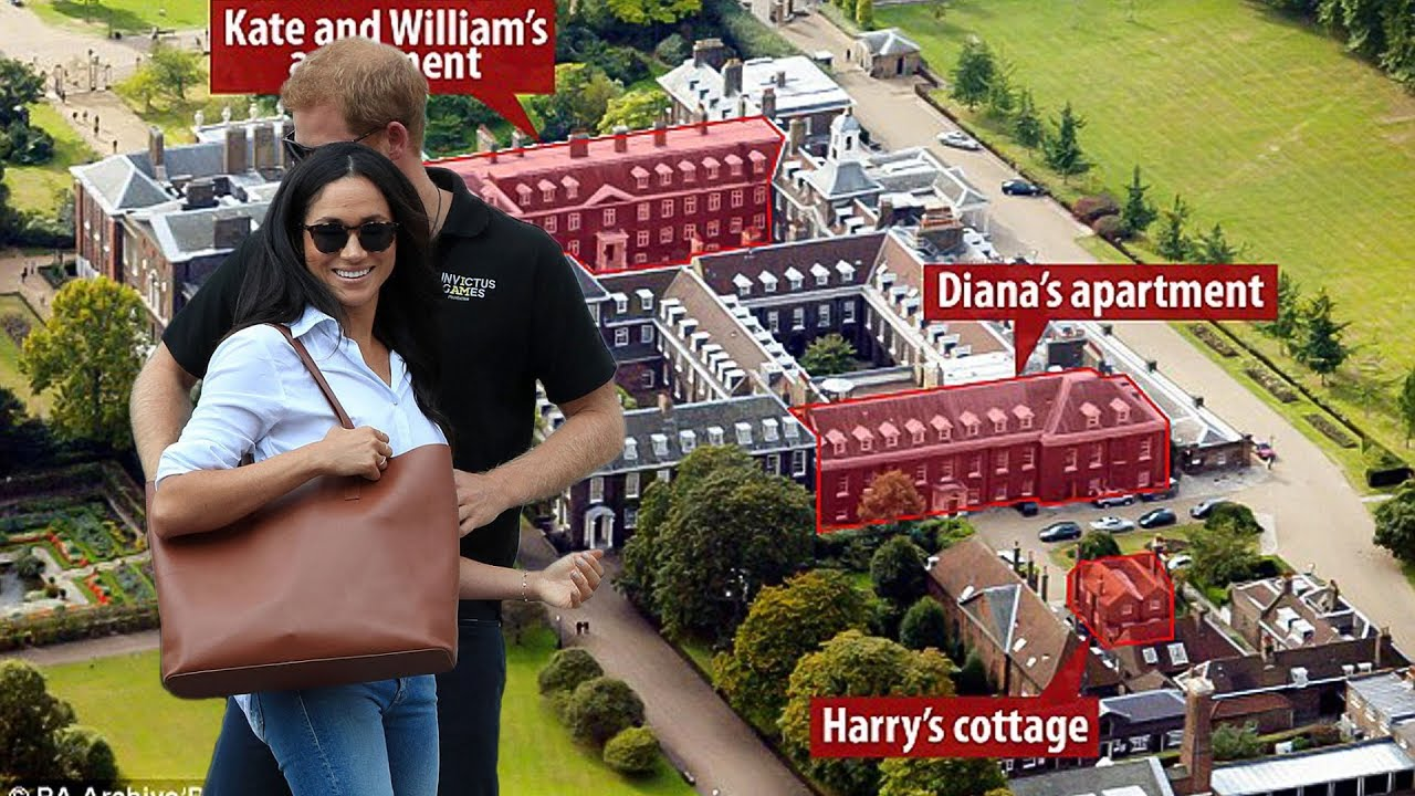 Meghan Markle May Be Moving Into Kensington Palace With Prince Harry