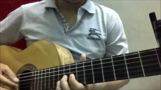 DAP VO CAY DAN (Quang Le) [Guitar solo] [K'K]