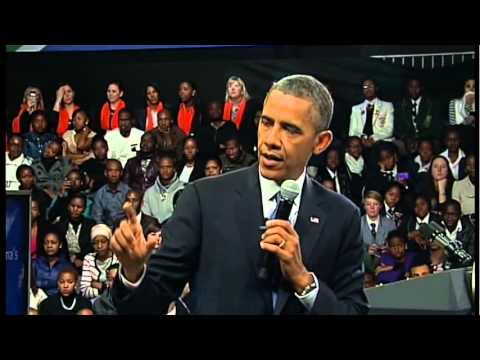 President Obama Comments on the African Growth and Opportunity Act (AGOA)
