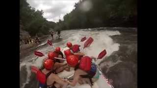 Ocoee Adventure Center Rafting Trip GoPro Video
