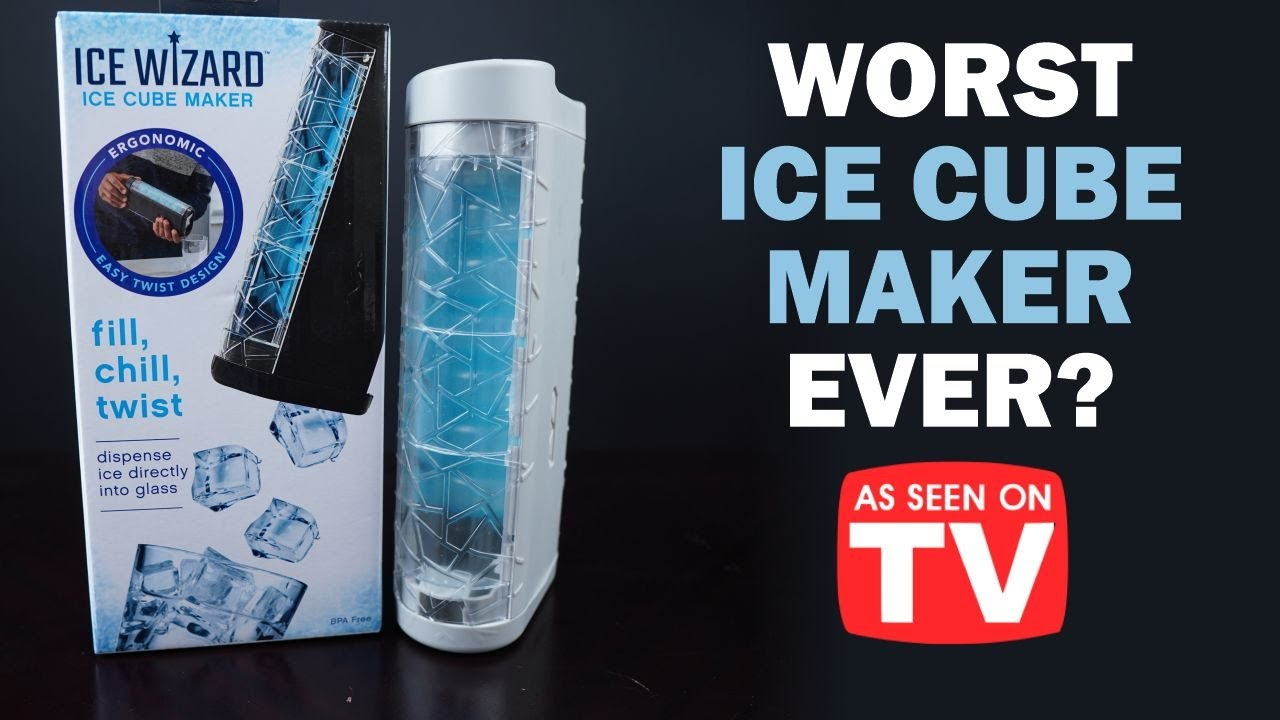 Ice Wizard Review: As Seen on TV Ice Cube Maker