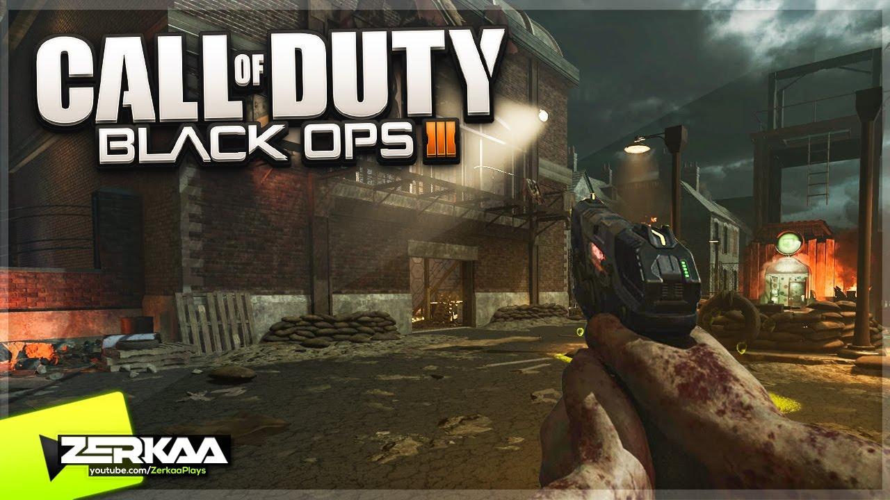BEST CUSTOM ZOMBIES MAP! (Black Ops 3 Custom Zombies)
