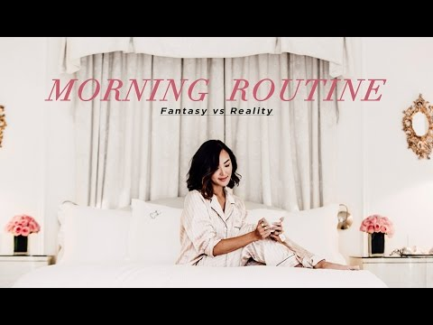 My Morning Routine - Fantasy vs Reality | Chriselle Lim thumbnail