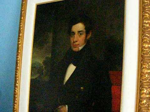 Samuel Morse painting of George W King in 1838 Last known portrait by Morse