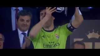 Casillas alza la copa del Rey! 16/04/2014 BARCELONA 1 - 2 REAL MADRID