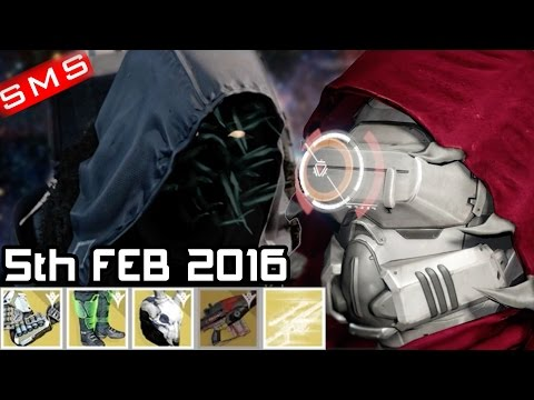 Destiny: Xur Location + Inventory 5th February 2016 + Trials Flawless Carries Twitch.tv/SoMxStation
