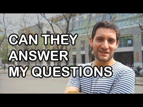 Can International Students of Peking University Answer Correctly?