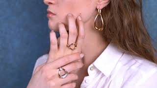 Video: Pierścionek Pomellato Fantina różowe złoto rozmiar 14