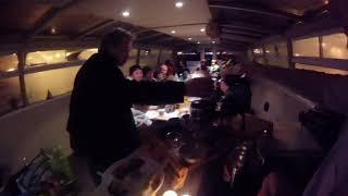 Чайный бар на корабле в честь дня рождения