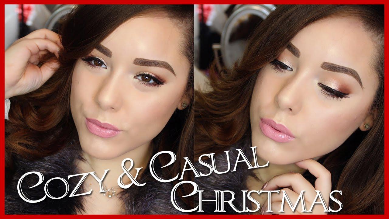 Cozy & Casual Christmas ❆ Affordable Tutorial ft ColourPop, MUG ...