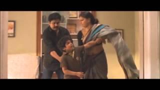 Mallu Actress Anusree Hot Navel Show In Saree
