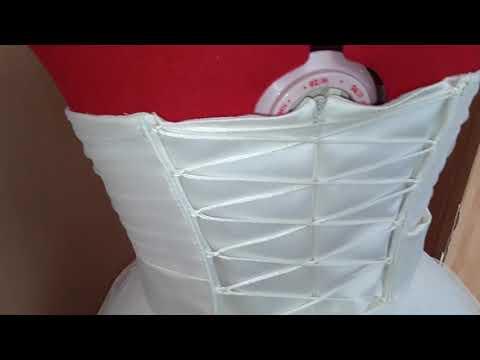 Короткое платье на выпускной. Нежное платья для девушки цвета айвори.