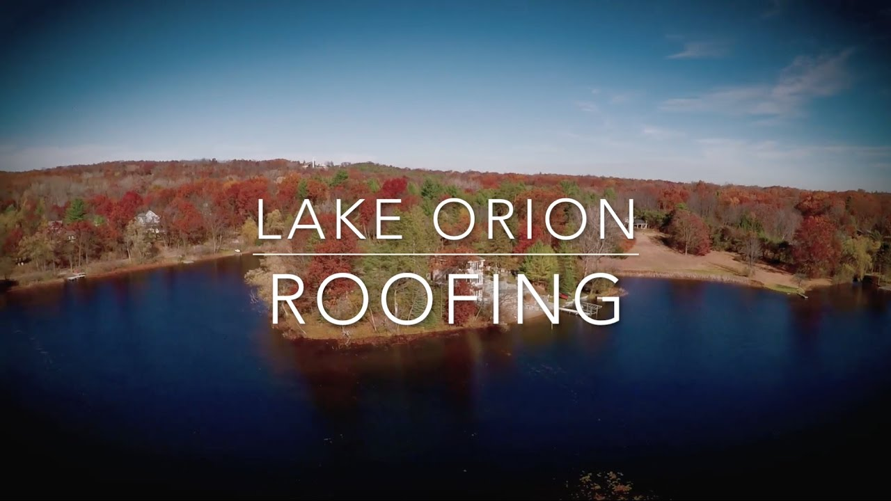 Good Lake Orion Roofing   Website Video