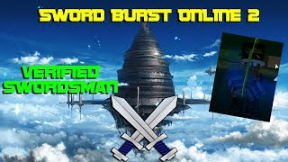 THE LEGENDARY SWORDSMAN | SWORD ART ONLINE ON ROBLOX [SBO2]