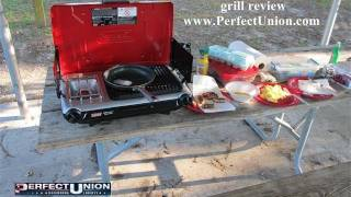 Coleman PerfectFlow Insta Start Grill Stove review