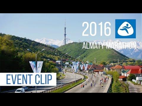 Almaty Marathon 2016 Event clip