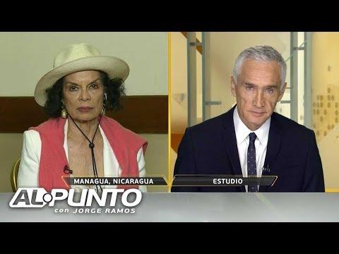 """""""Ortega está ordenando esos asesinatos"""": Bianca Jagger tras las muertes en Nicaragua"""