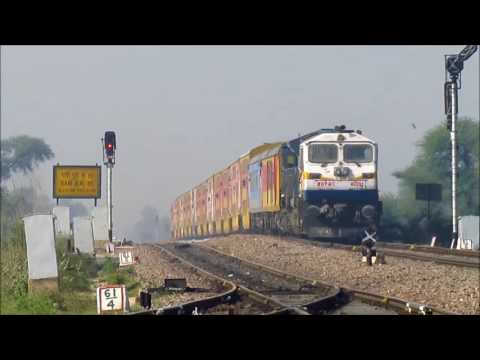 3 In 1 Double Decker Trains Of Indian Railways At Flat MPS