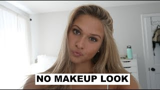 quick & easy natural makeup look for school!