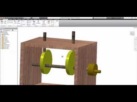 autodesk inventor cam follower project tutorial youtube. Black Bedroom Furniture Sets. Home Design Ideas