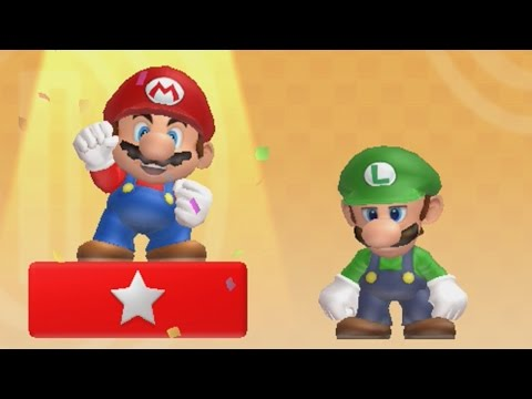 New Super Mario Bros U - Coin Battle