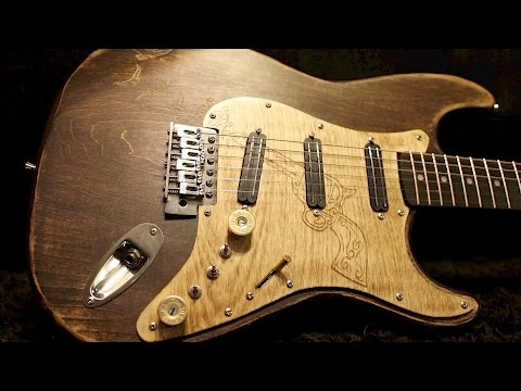How to build a high end guitar out of a cheap eBay diy kit