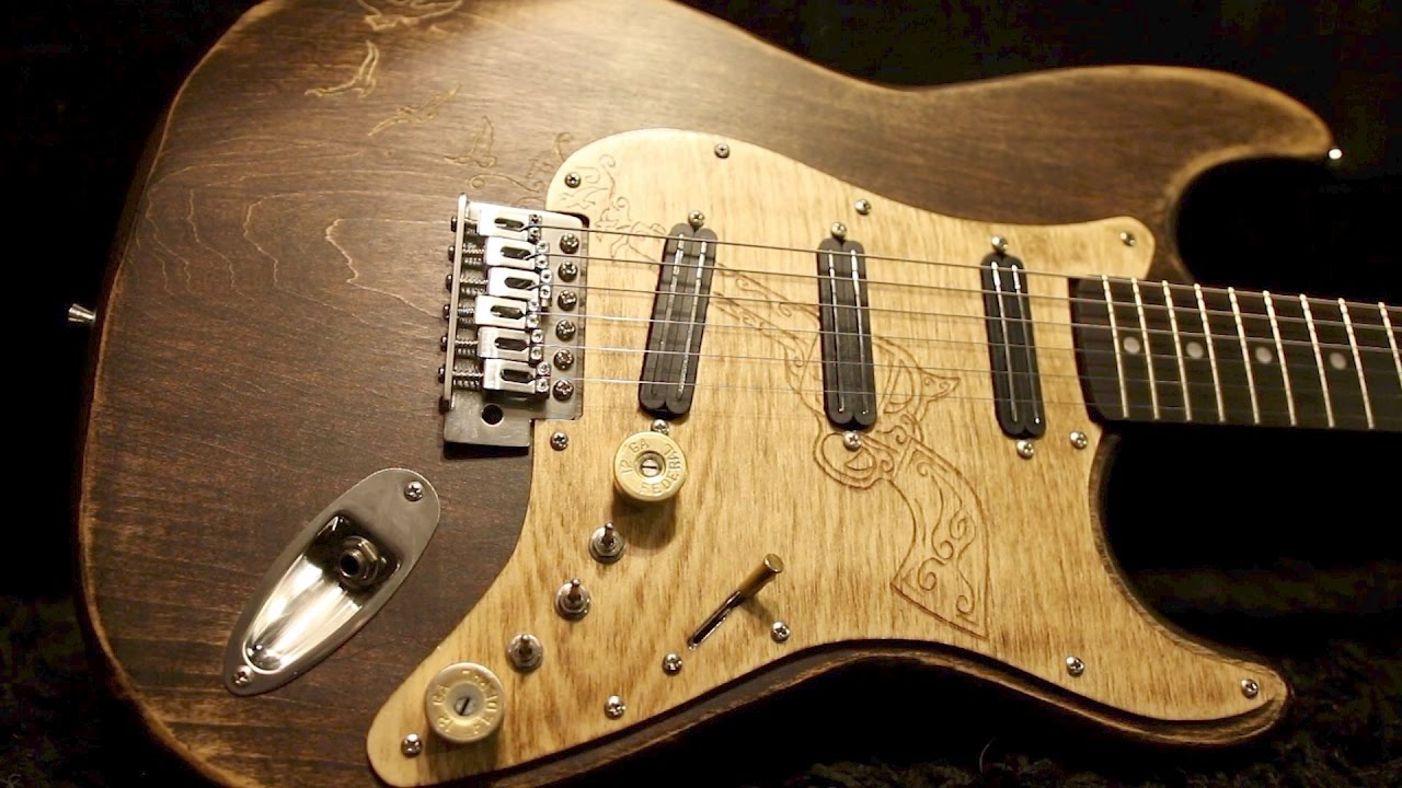 How To Build A High End Guitar Out Of Cheap EBay Diy Kit