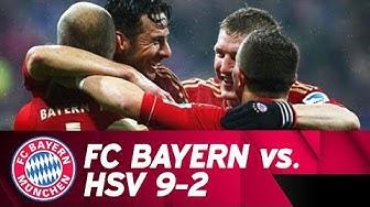 When FC Bayern beat Hamburger SV 9-2 | #FlashbackFriday