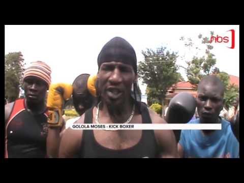 Mosese Golola Training the Young in Boxing