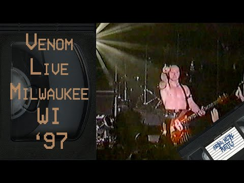 VENOM Live in Milwaukee WI July 26 1997 FULL CONCERT