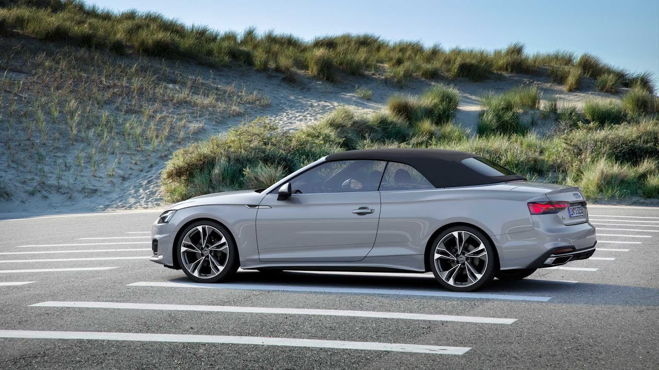 2020 Audi A5 Cabriolet 4K - YouTube